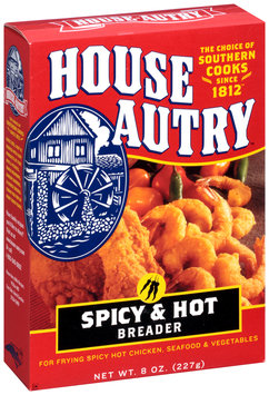 House-Autry Spicy & Hot Breader 8 oz. Box