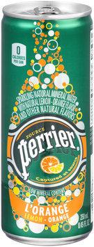Perrier® L'Orange & Lemon Sparkling Natural Mineral Water