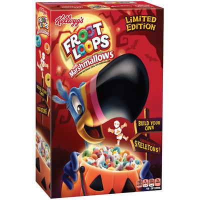 Kellogg's® Fruit Loops® with Marshmallows 9.4 oz. Box