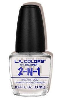 L.A. Colors 2-in-1 Base/Top Coat Treatment