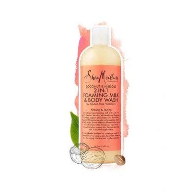 SheaMoisture Coconut & Hibiscus Foaming Milk & Body Wash