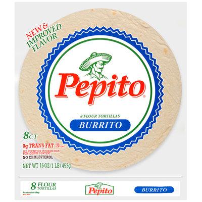 Pepito® Burrito Flour Tortillas 16 oz. Bag