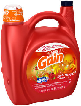 Gain HEC Apple Mango Tango Liquid Laundry Detergent 81 Loads 170 Fl Oz
