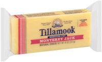 Tillamook® Reduced Fat Monterey Jack Cheese 8 oz. Brick