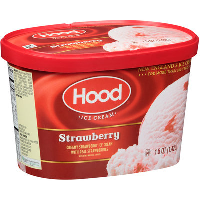 Hood® Strawberry Ice Cream 1.5 qt. Carton