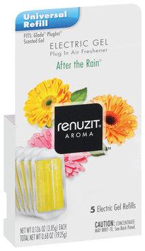 Renuzit Refills After The Rain Electric Gel Air Freshener 5 Ct Box