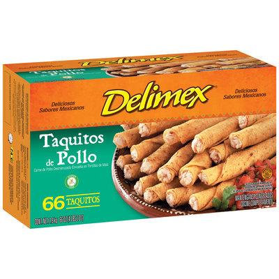 Delimax® Pollo Taquitos 66 oz. Box