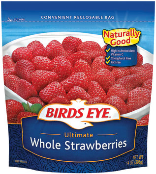 Birds Eye Whole Ultimate Strawberries 14 Oz Bag