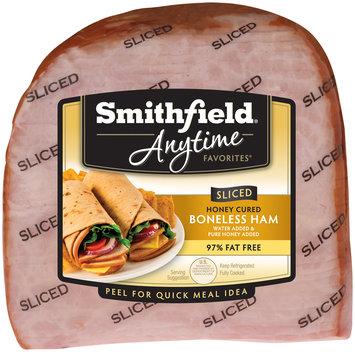 Smithfield® Anytime Favorites™ Honey Cured Boneless Sliced Ham