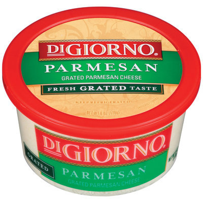 DiGiorno Parmesan Grated Cheese 6 Oz Tub