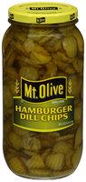 Mt. Olive Hamburger Dill Chips Pickles 80 fl. oz. Jar