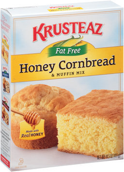 Krusteaz® Fat Free Honey Cornbread & Muffin Mix 14.5 oz. Box