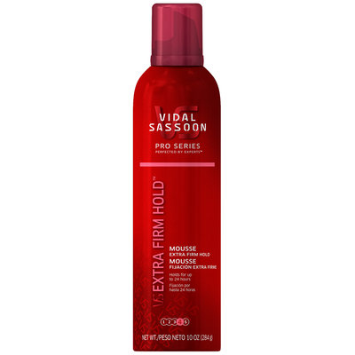 Vidal Sassoon Pro Series Extra Firm Hold Mousse 10 oz. Can