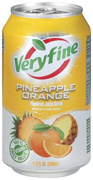 Veryfine Pineapple Orange  Juice Drink 11.5 Oz Pull-Top Can