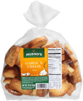 Musso's™ Oven Baked Garlic & Cheese Toast 10 oz. Bag