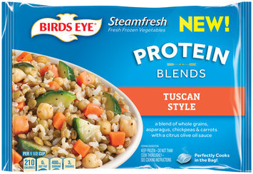 birds eye® steamfresh® tuscan style protein blends