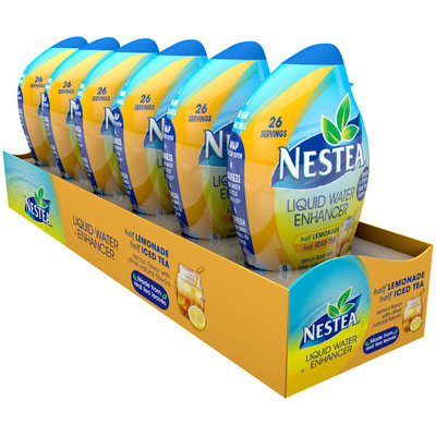 Nestea® Half Lemonade Half Iced Tea Liquid Water Enhancer 6 ct Bottles