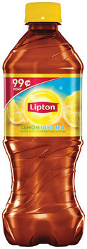 Lipton Iced Tea Lemon 99 Cents Pre-Priced 20 Oz Plastic Bottle