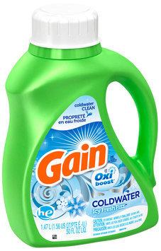 Gain with Oxi Booster™ Icy Fresh Fizz Liquid Detergent 50 fl. oz. Bottle