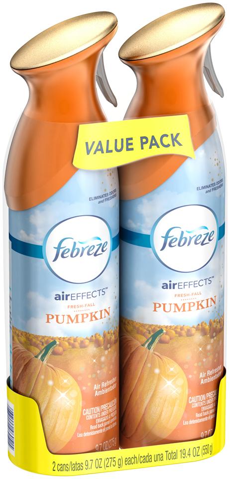 Air Effects Febreze Air Effects Fresh Fall Pumpkin Air Freshener (2 Count, 19.4 oz)