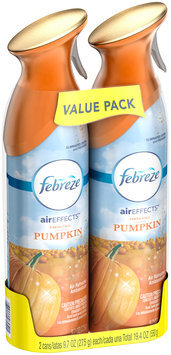 Air Effects Febreze Air Effects Fresh Fall Pumpkin Air Freshener (2 Count, 19.4 oz)