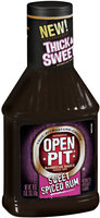 Open Pit® Thick & Sweet Barbecue Sauce Sweet Spiced Rum 18 oz.