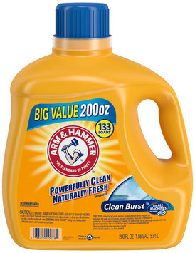Arm & Hammer™ Clean Burst™ Detergent 200 fl. oz. Jug