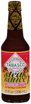 McIlhenny Co. Tabasco® Steak Sauce Caribbean Style Meat Sauce 10 fl. oz. Bottle