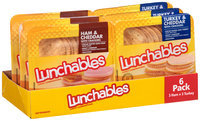 Oscar Mayer Lunchables Ham & Cheddar/Turkey & Cheddar Lunch Combinations Variety Pack 6-3.2 oz. Trays