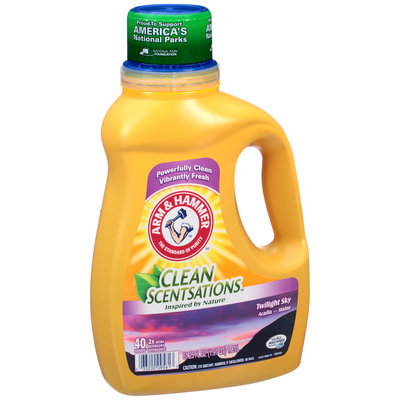 ARM & HAMMER™ Clean Scentsations™ Twilight Sky Acadia, Maine 2x Ultra Laundry Detergent