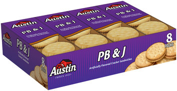 Austin® PB & J Cracker Sandwiches 8 ct Tray