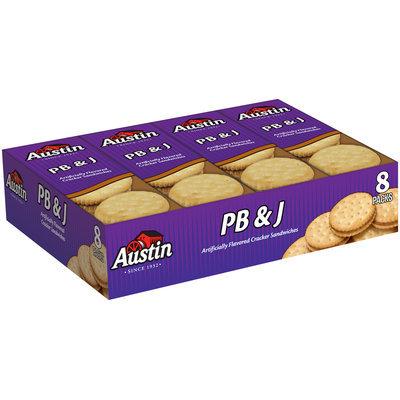 Austin® PB & J Cracker Sandwiches 8 ct Tray