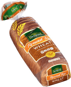 Springfield® Round Top Wheat Enriched Bread 16 oz. Bag