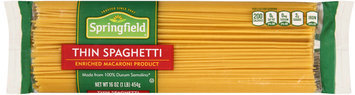 Springfield® Thin Spaghetti 16 oz. Bag