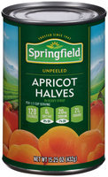 Springfield® Unpeeled Apricot Halves In Heavy Syrup 15.25 oz. Can