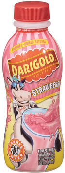 Darigold Strawberry Low Fat Milk 16 Oz Plastic Bottle