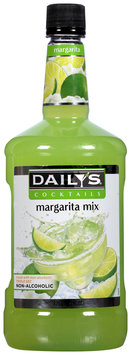 Daily's® Cocktails Non-Alcoholic Margarita Mix 59.2 fl. oz. Bottle