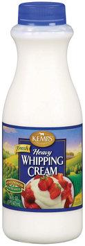 Kemps Fresh Heavy Whipping Cream 16 Fl Oz Plastic Bottle