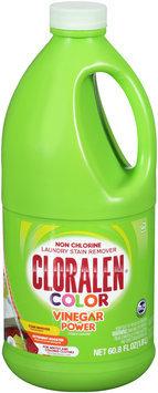Cloralen® Color Vinegar Power Non Chlorine Laundry Stain Remover 60.8 fl. oz. Jug