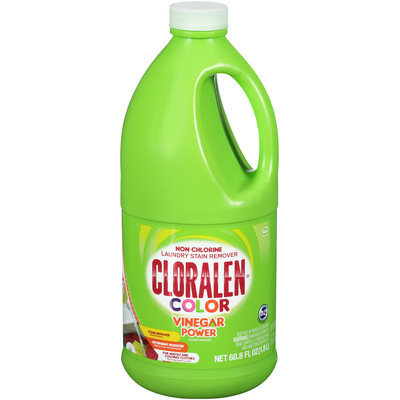 Cloralen® Color Vinegar Power Non Chlorine Laundry Stain Remover 60.8 fl. oz. Jug
