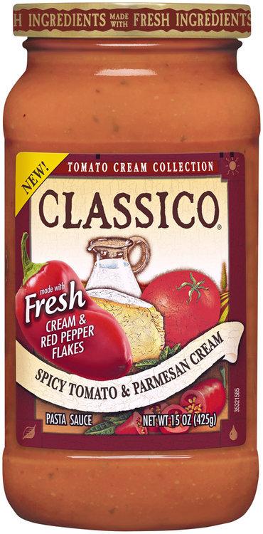 CLASSICO Tomato Cream Collection Spicy Tomato & Parmesan Cream Pasta Sauce
