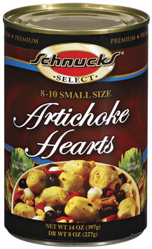 Schnucks Small Size Artichoke Hearts 14 Oz Can