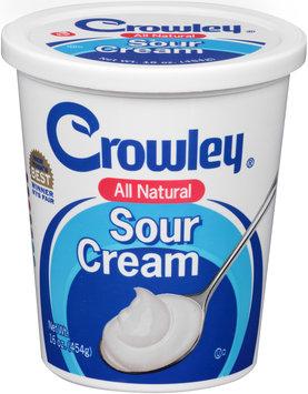 Crowley® Sour Cream 16 oz. Tub