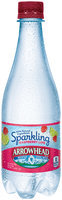 Arrowhead® Sparkling Raspberry Lime Mountain Spring Water 0.5L Plastic Bottle