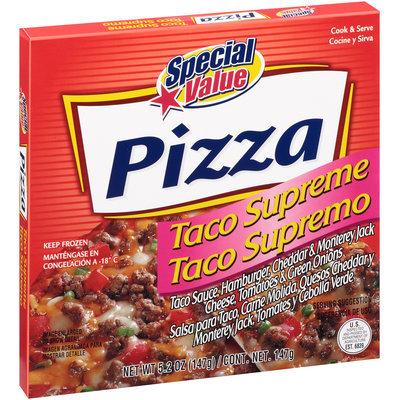 Special Value® Taco Supreme Pizza