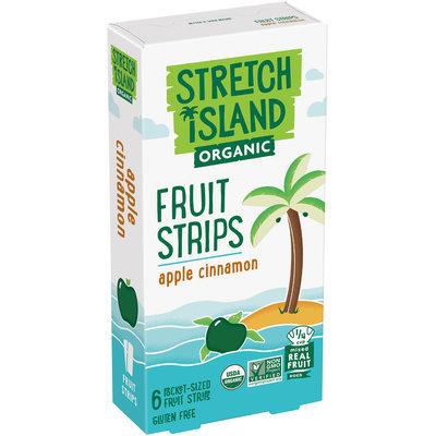 Stretch Island® Organic Apple Cinnamon Fruit Strips 6-0.5 oz. Strips