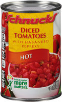 Schnucks® Hot Diced Tomatoes with Habanero Peppers 10 oz. Can