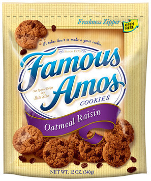 Famous Amos® Oatmeal Raisin Cookies 12 oz. Bag