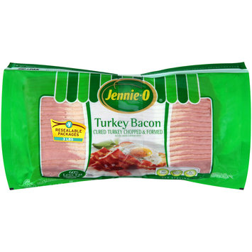 Jennie-O® Turkey Bacon 4-12 oz. ZIP-PAK