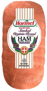 hormel smoked virginia brand 96% fat free ham